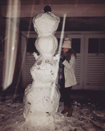 Four ball snowman
